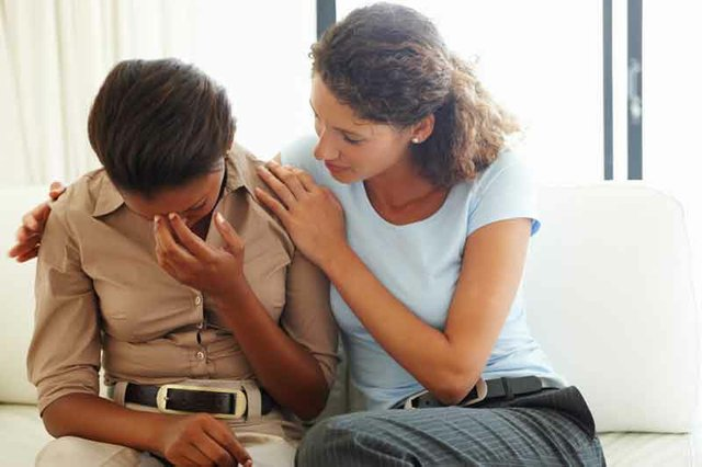 Image result for person being comforted