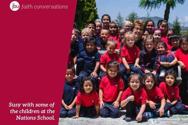 Susy McNally Nations School Living Hope International