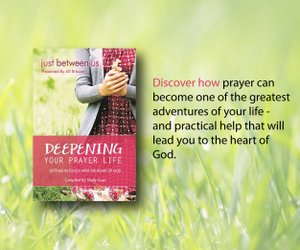 JBU Deepening Your Prayer Life Ad 1