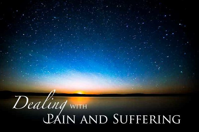 Dealing with Pain and Suffering