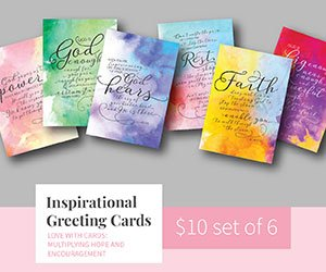 JBU Inspirational Greeting Cards Ad 2020 | 300x250