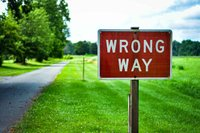 Are You Going the Wrong Way?