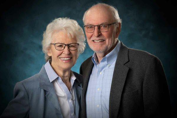 Jill and Stuart Briscoe