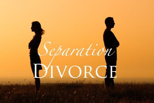Separation, Divorce